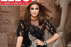 Parineeti Chopra on the cover of Hello Magazine's June 2017 edition
