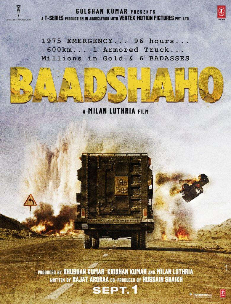 Baadshaho, Poster