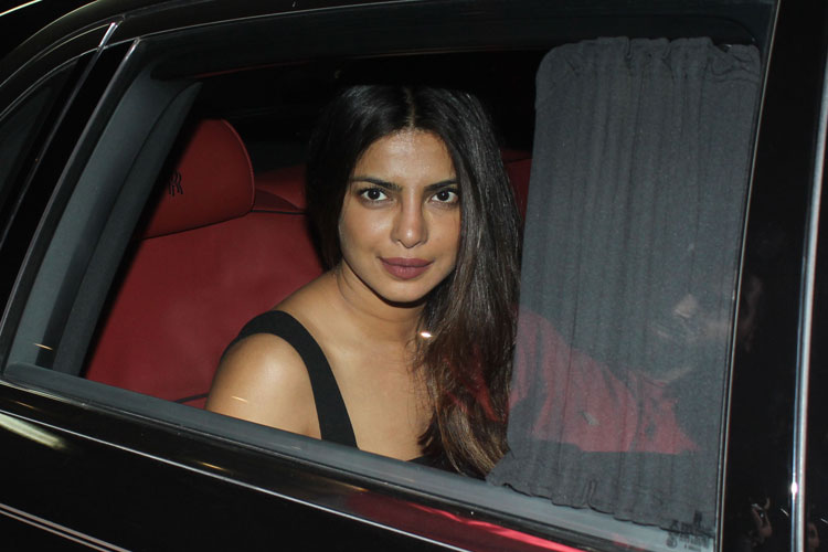 Priyanka Chopra snapped at the Mumbai international airport