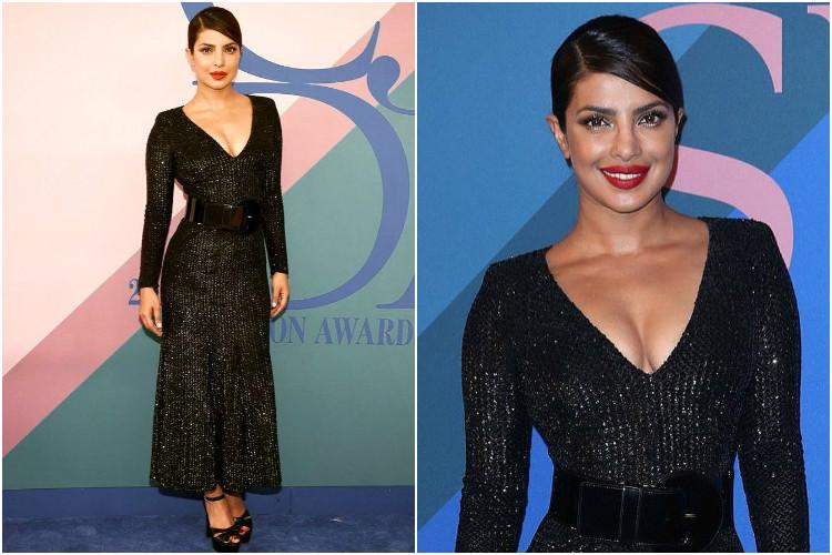 Priyanka Chopra at the CFDA Awards 2017