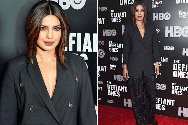 Priyanka Chopra's the Defiant Ones premiere photo