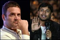 Watch: Former JNUSU president Kanhaiya Kumar joins Rahul Gandhi in a promotional video of Congress' National Herald