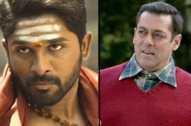 Salman Khan and Allu Arjun, Allu Arjun DJ, Salman Khan Tubelight