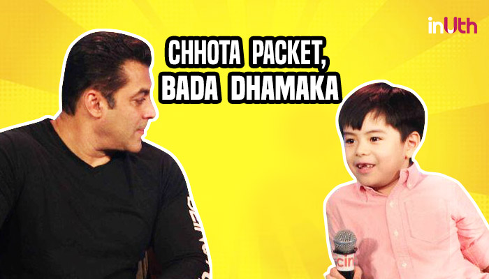 Salman Khan and Matin Rey Tangu, Salman Khan Tubelight