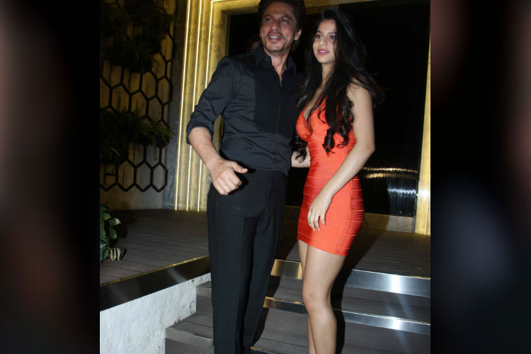 Suhana Khan at the opening of a restaurant