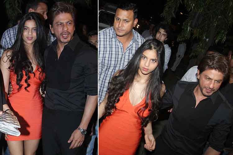 Suhana looks stunning at bar launch photo
