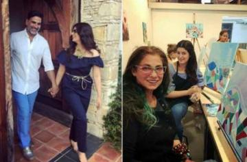 Twinkle Khanna and Dimple Kapadia vacation in Europe with family pics
