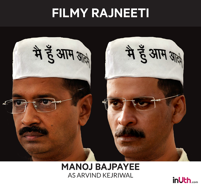 Manoj Bajpayee as Arvind Kejriwal