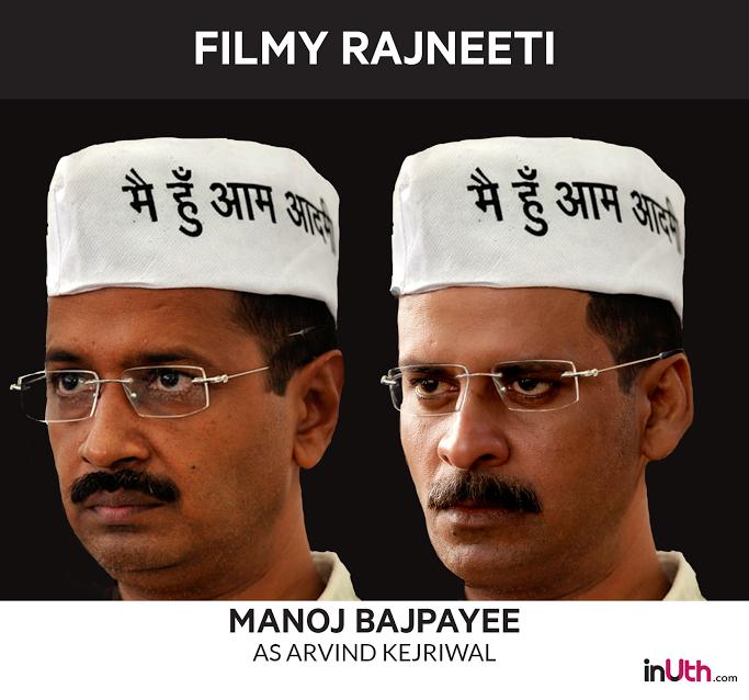 Manoj Bajpayee as Arvind Kejriwal