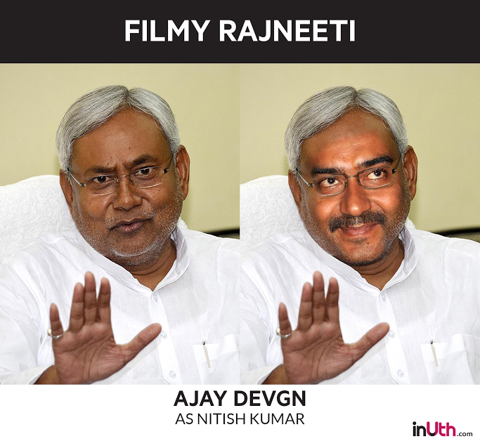 Ajay Devgn as Nitish Kumar