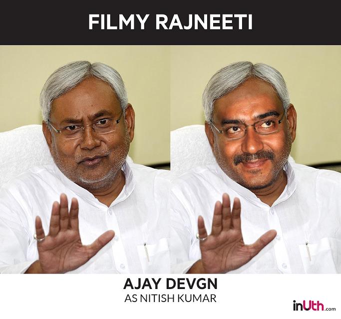 Ajay Devgn as Nitish Kumar