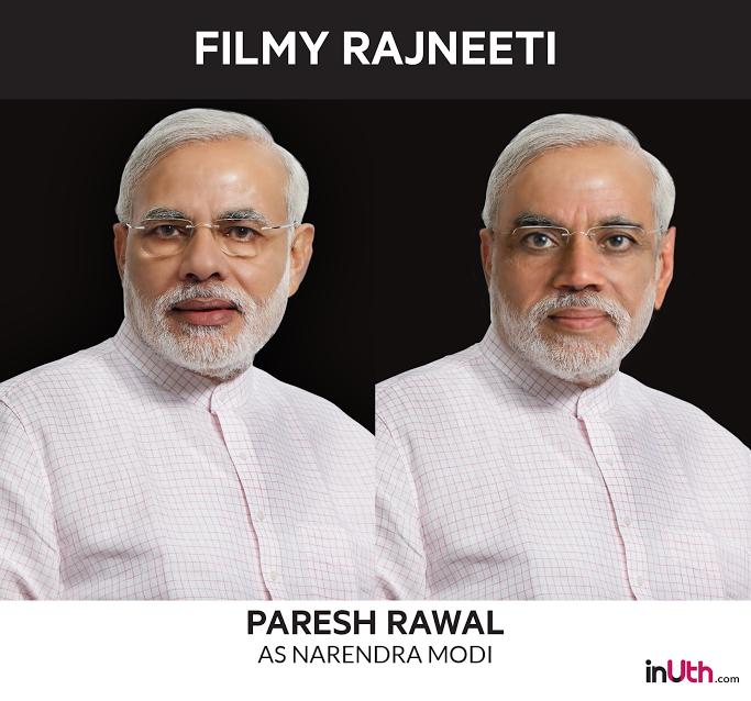 Paresh Rawal as Narendra Modi