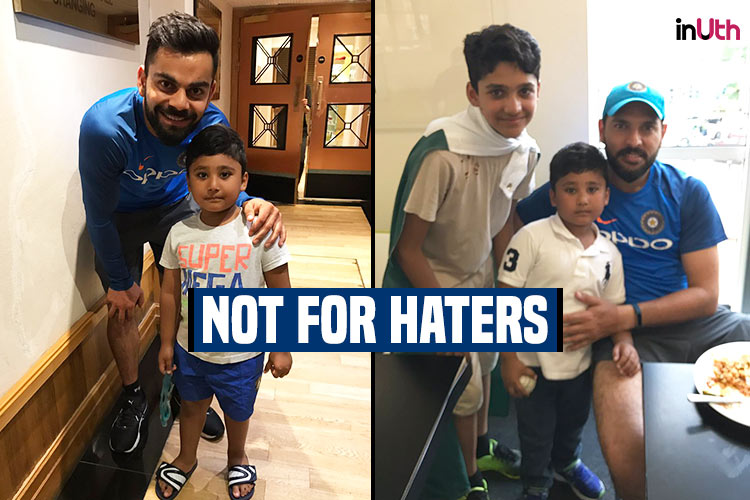 MS Dhoni, Virat Kohli, Yuvraj Singh rubbish India-Pakistan rivalry, spend quality time with Azhar Ali's kids