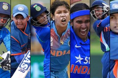 India Women cricketers, Mithali Raj, Jhulan Goswami, Shikha Pandey, Smriti Mandhana, Deepti Sharma, Harmanpreet Kaur, Punam Raut