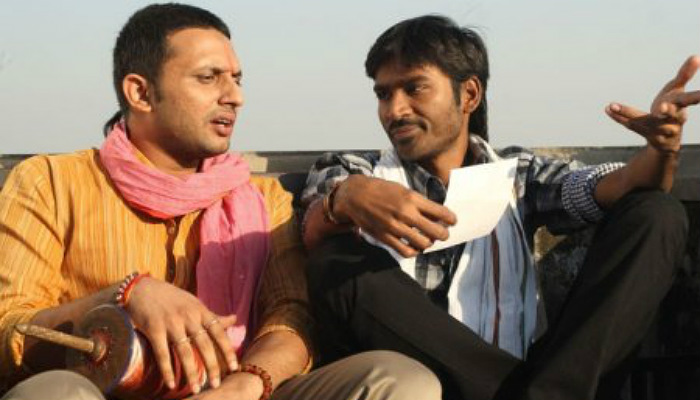 zeeshan and dhanush in a still from Raanjhnaa