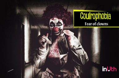 a recount on the coulrophobia the fear of clowns When we think of clowns, we think of funny people with faces painted white, red big lips and big eye brows, red shiny round nose, colored hair, with colorful.