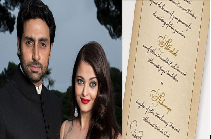 7 Bollywood celebrity wedding invitation cards that are not just