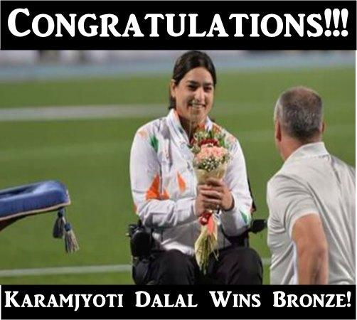 Karamjyoti Dalal Wins Bronze!