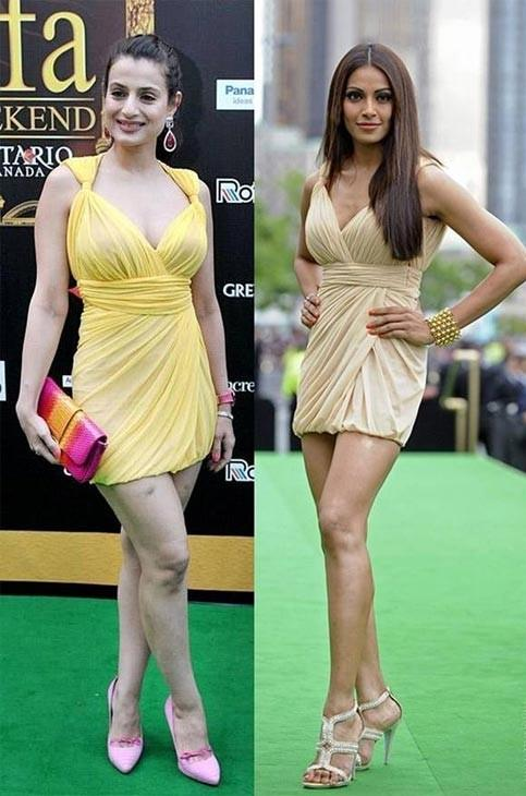 Ameesha Patel and Bipasha Basu