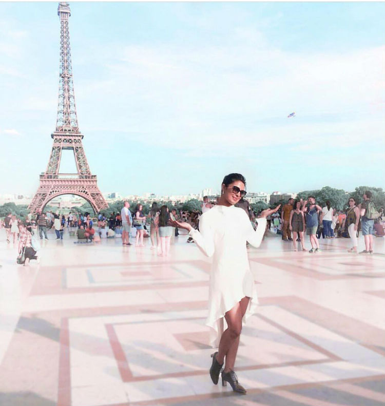 Priyanka Chopra in Paris