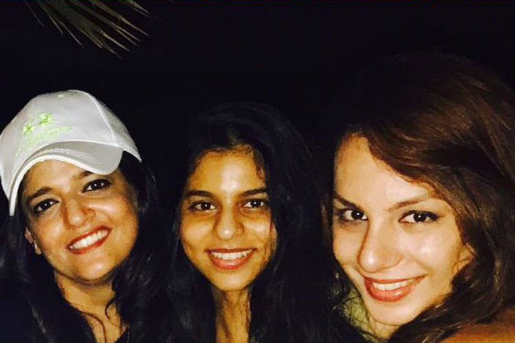 Bigg Boss ex-contestant parties with SRK's daughter Suhana Khan