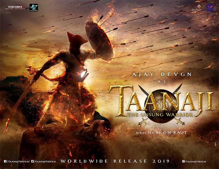 Ajay Devgn shares first look of Taanaji: The Unsung Warrior