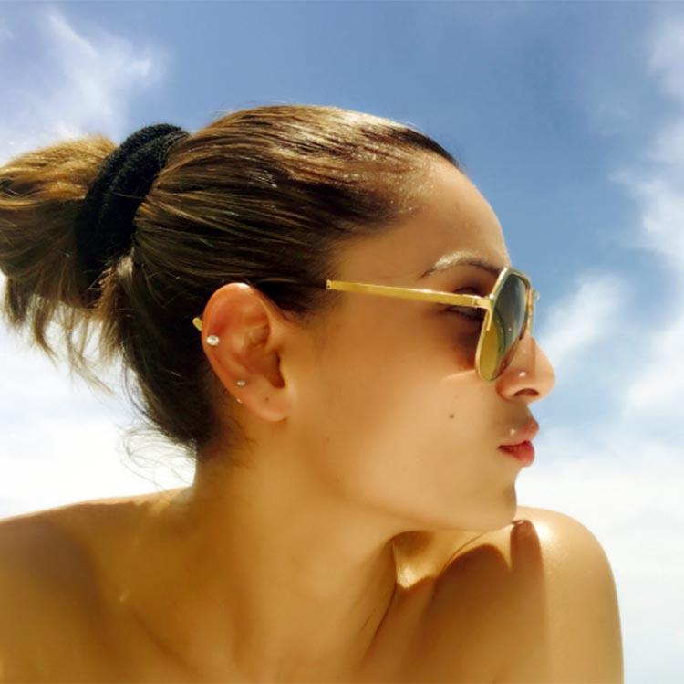 Bipasha Basu soaking in the Miami sun