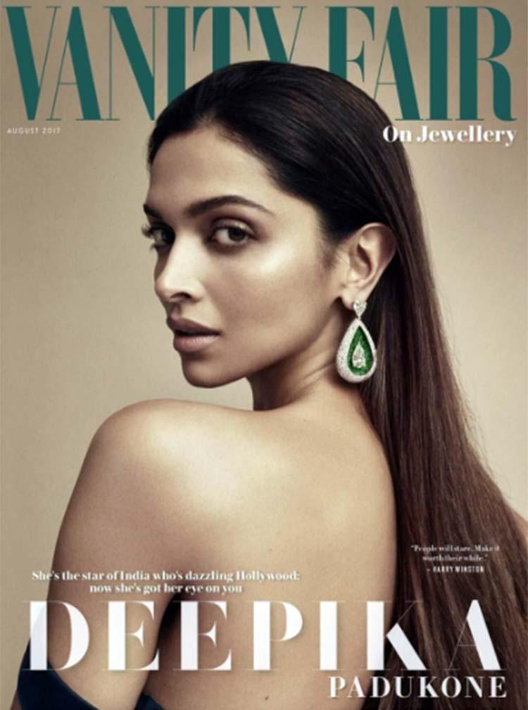 Deepika Padukone looks enticing on Vanity Fair cover