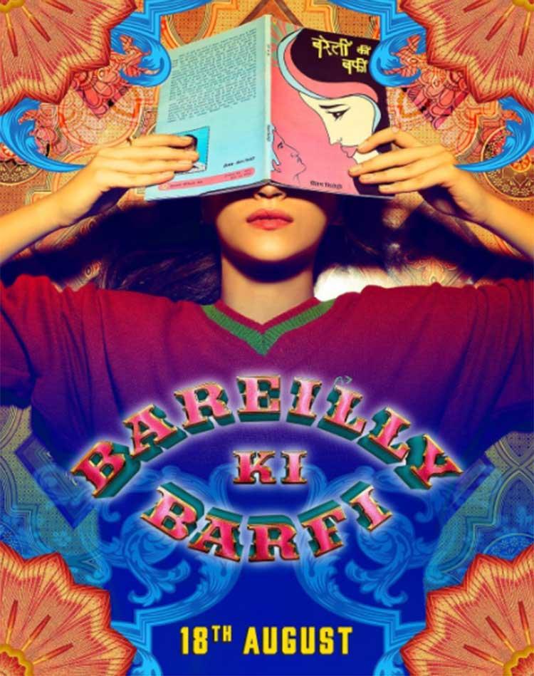 Kriti Sanon on the first look poster of Bareilly Ki Barfi