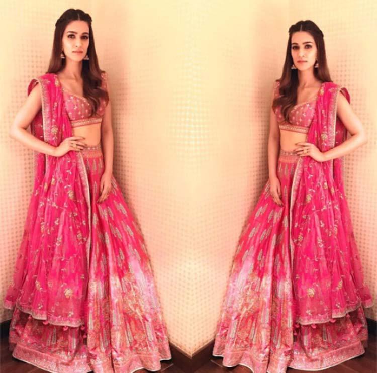 Kriti Sanon's shadi perfect look from Bareilly Ki Barfi