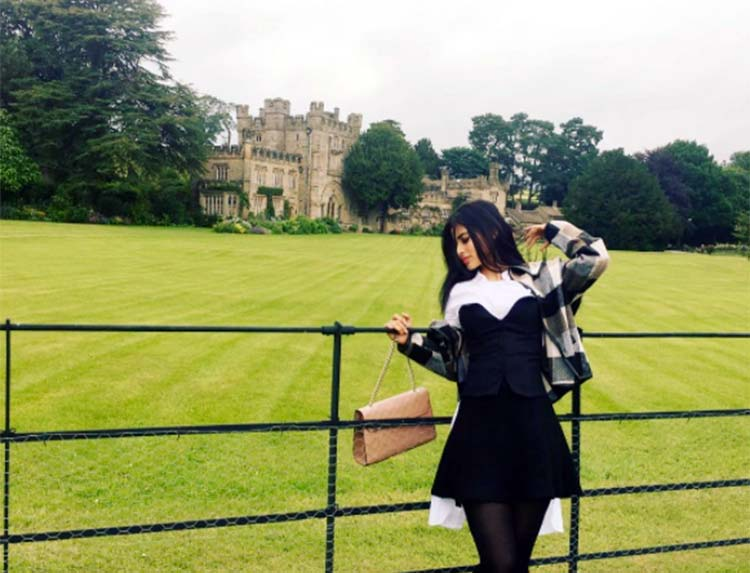 Mouni Roy is in London for the shoot of Gold