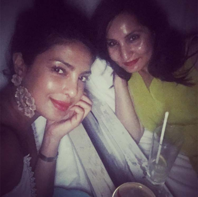 Priyanka Chopra with her BFF on the birthday vacation