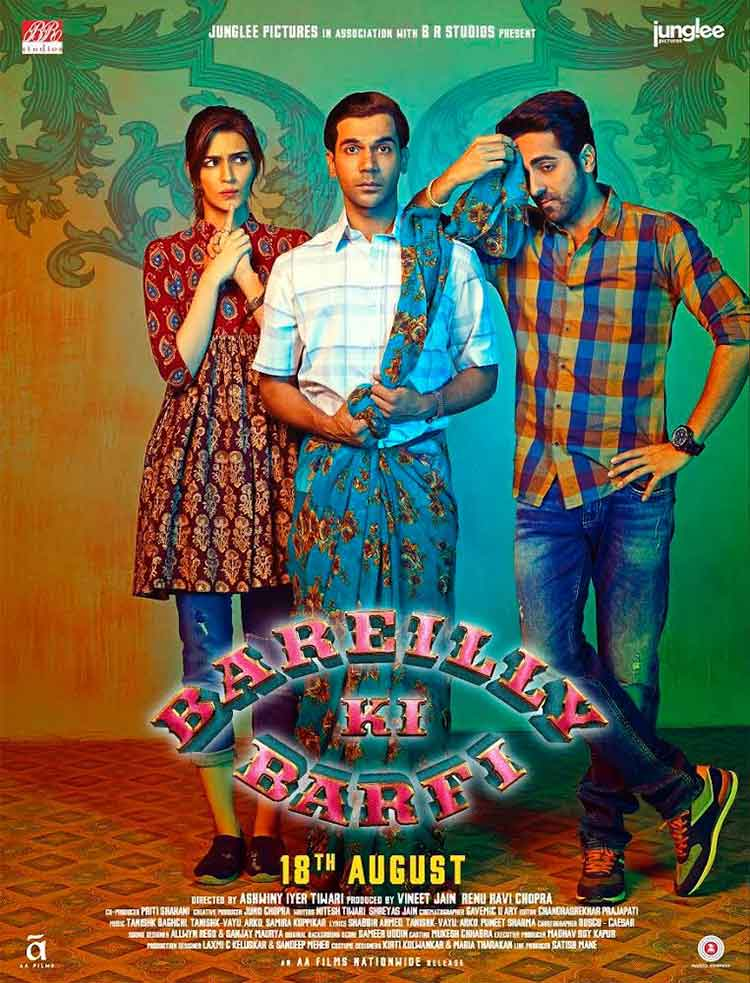 Rajkummar Rao looks hilarious in the new Bareilly Ki Barfi poster