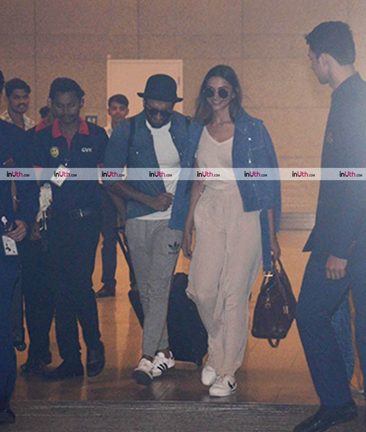 Ranveer Singh and Deepika Padukone return after the latter's birthday celebrations