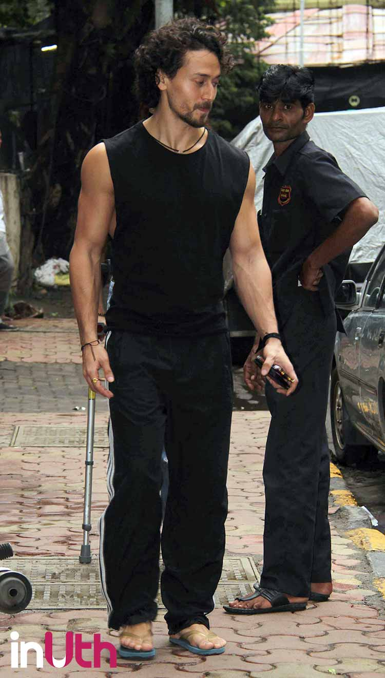Tiger Shroff spotted on an outing