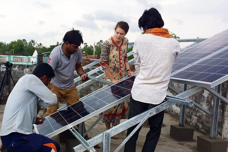 This UK student initiative provides electricity to a remote Indian village