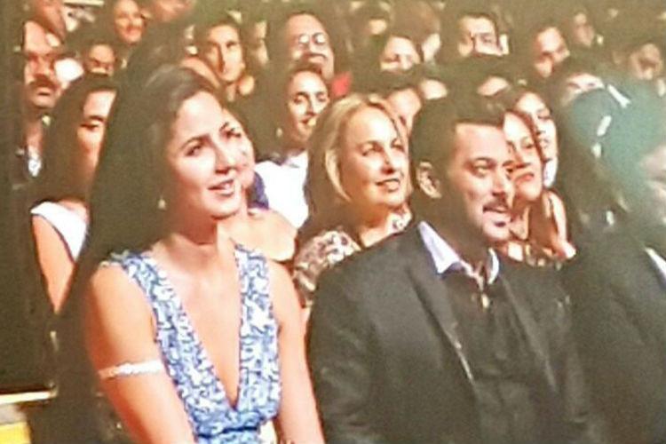 Salman Khan and Katrina Kaif, IIFA 2017