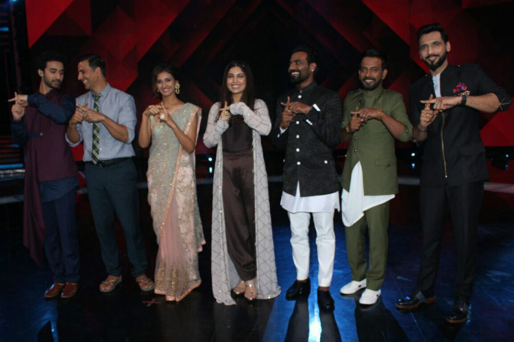 Promotion of Toilet Ek Prem Katha on Dance Plus