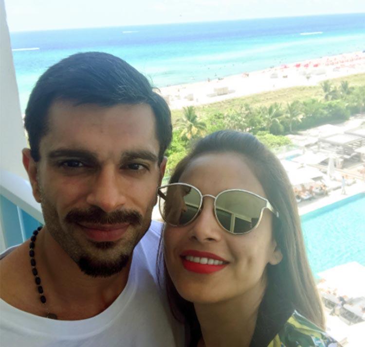 Bipasha Basu and Karan Singh Grover romancing Miami