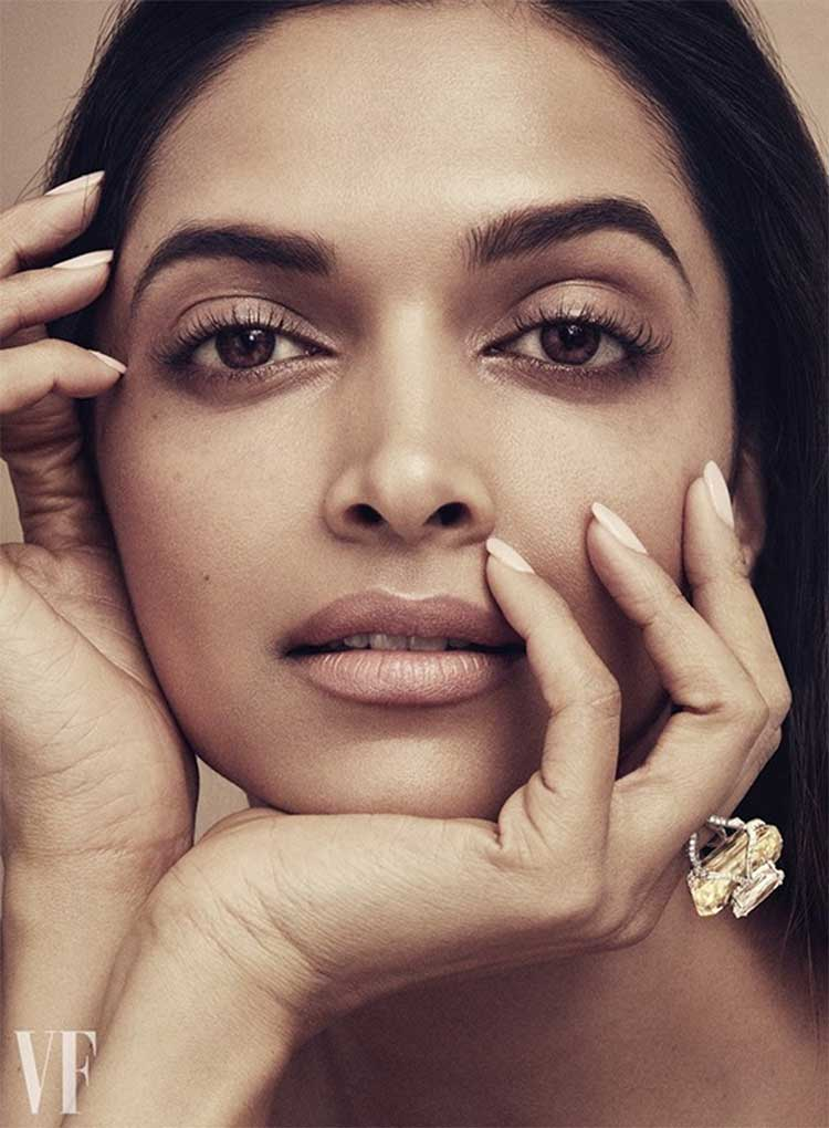 Deepika Padukone's Vanity Fair UK photoshoot