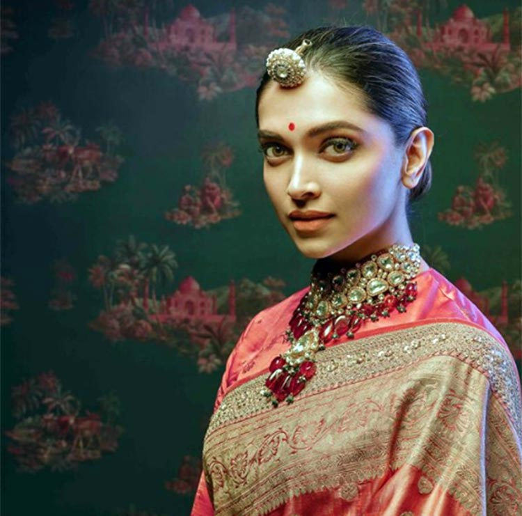Deepika Padukone's latest photoshoot for Sabyasachi is awe-inspiring