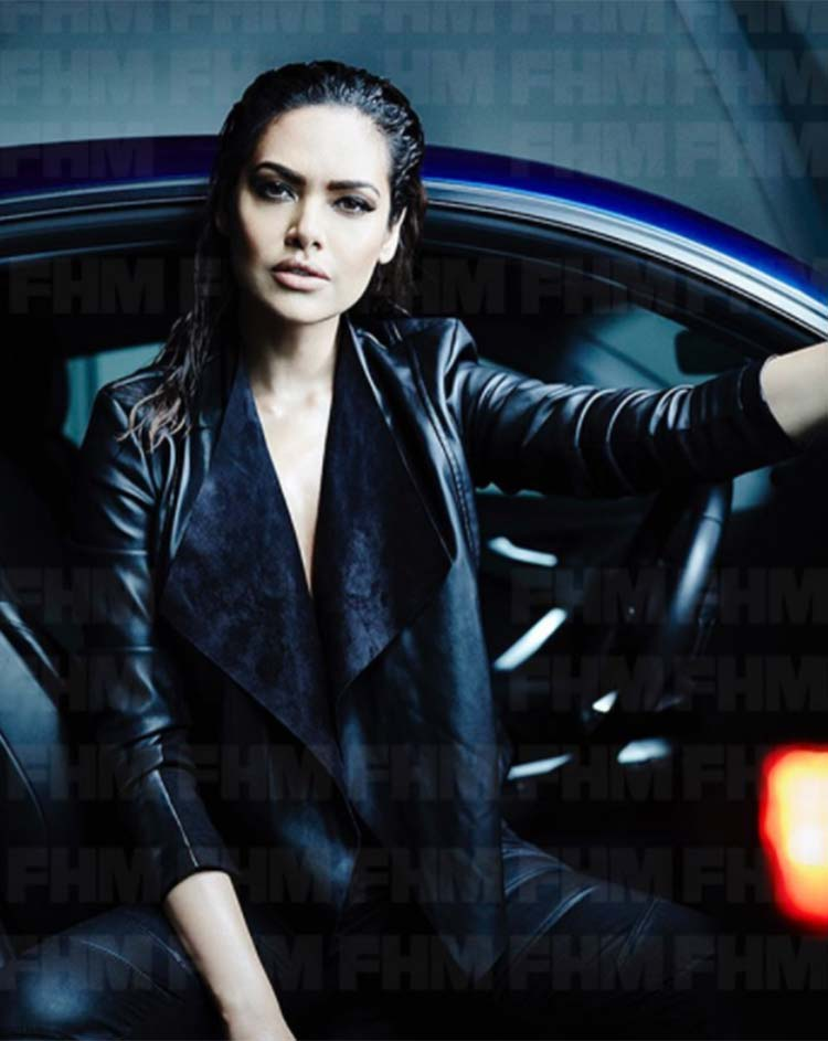 Esha Gupta looks total badass in this FHM photoshoot