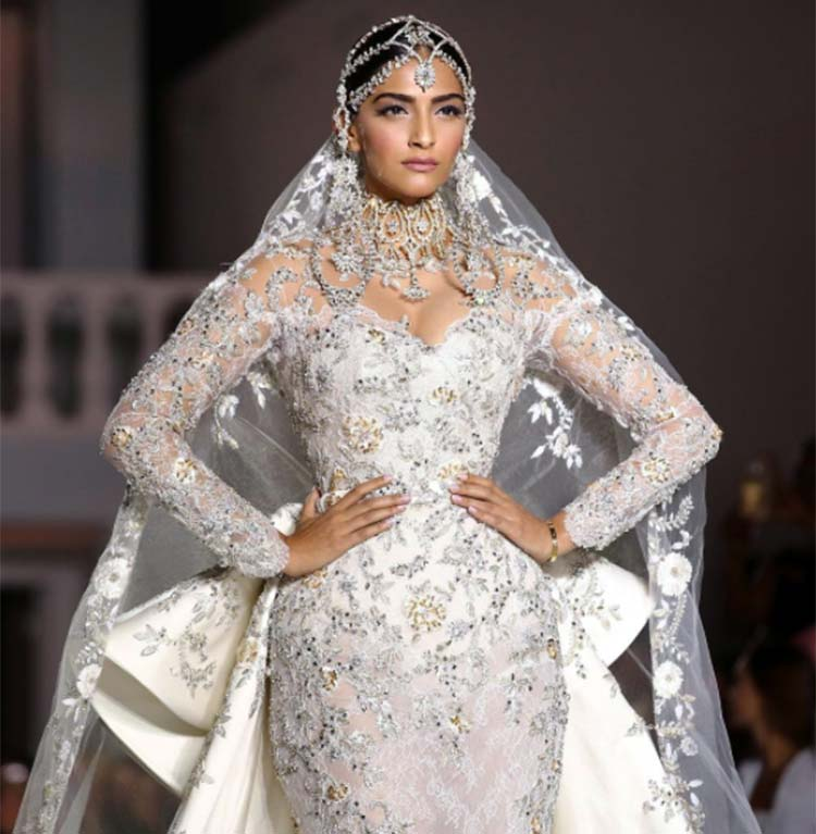 Sonam Kapoor looks ethereal in white Ralph and Russo creation