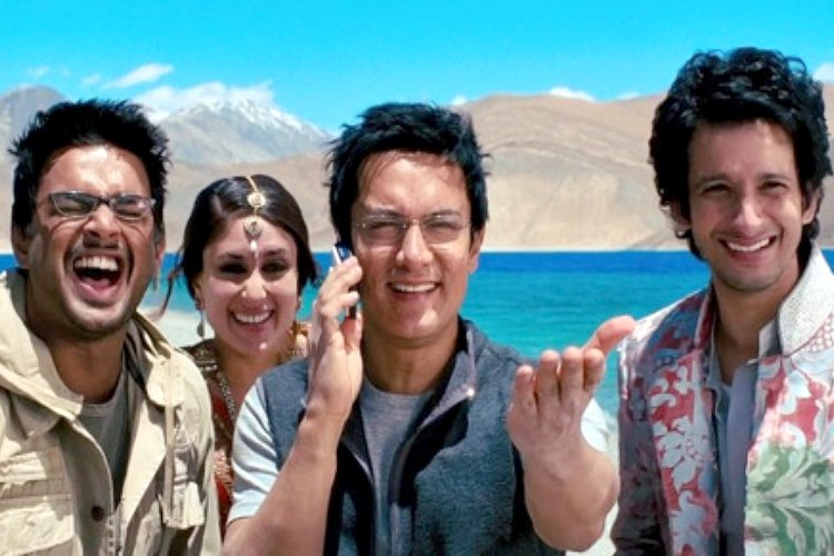 Bollywood, 3 idiots, Rang De Basanti, RDB songs, offbeat destinations, Bollywood movies
