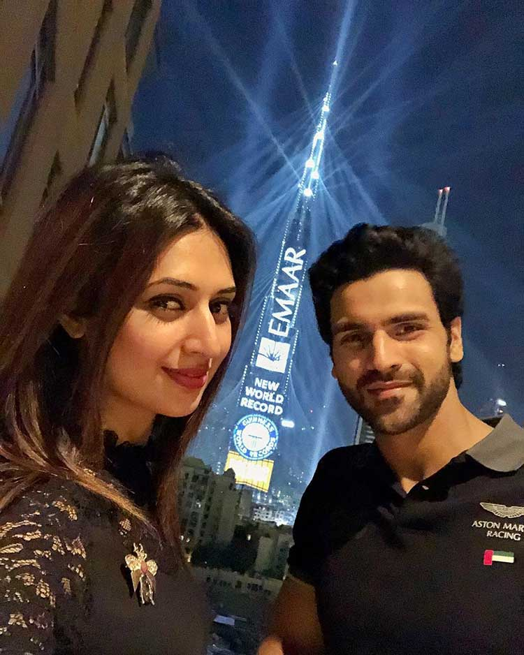 Divyanka Tripathi and Vivek Dahiya celebrating new year in Dubai