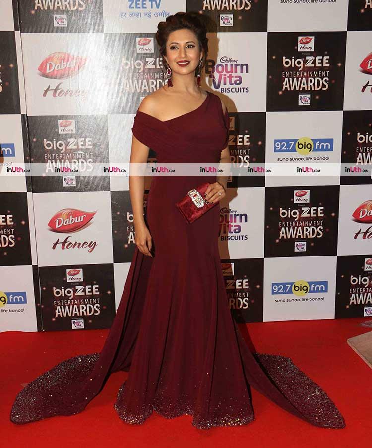 Divyanka Tripathi at Big Zee Entertainment Awards 2017