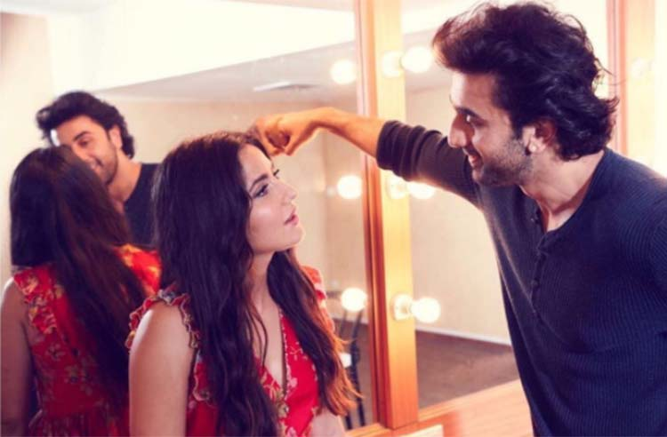 Katrina Kaif's Instagram photo with Ranbir Kapoor