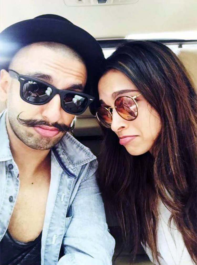Ranveer Singh and Deepika Padukone are just too cute together