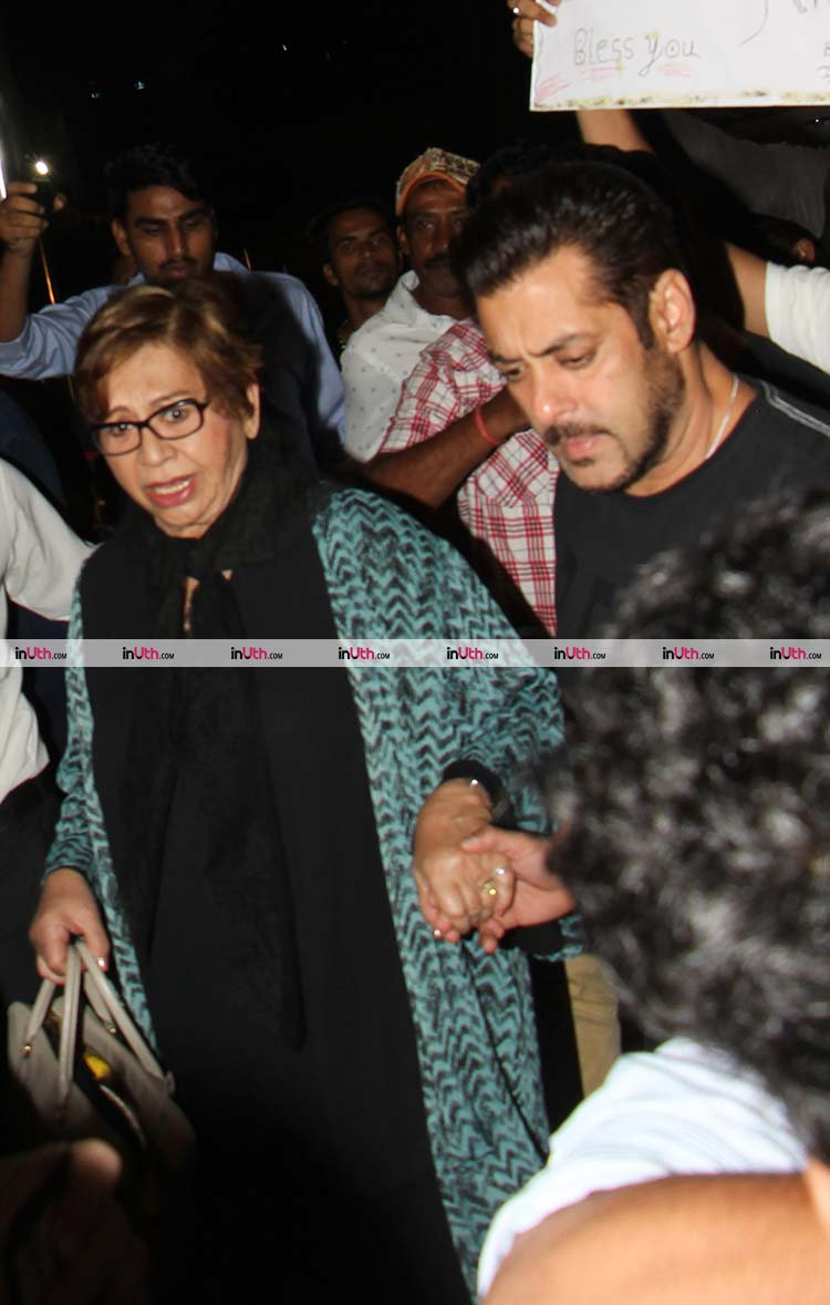 Salman Khan and Helen leaving for IIFA 2017