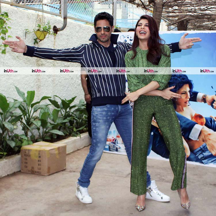 Sidharth Malhotra and Jacqueline Fernandez were shining at A Gentleman trailer preview
